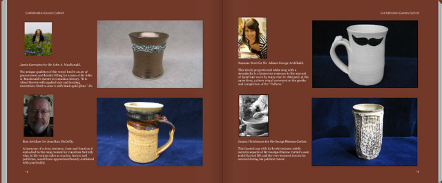 Some of the potters (snippet from book)