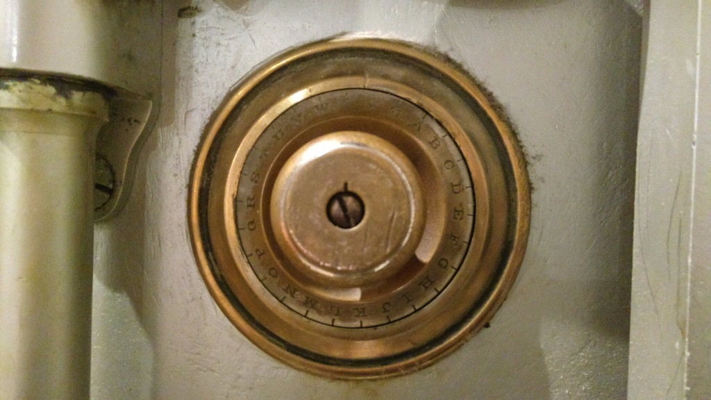 The safe dial