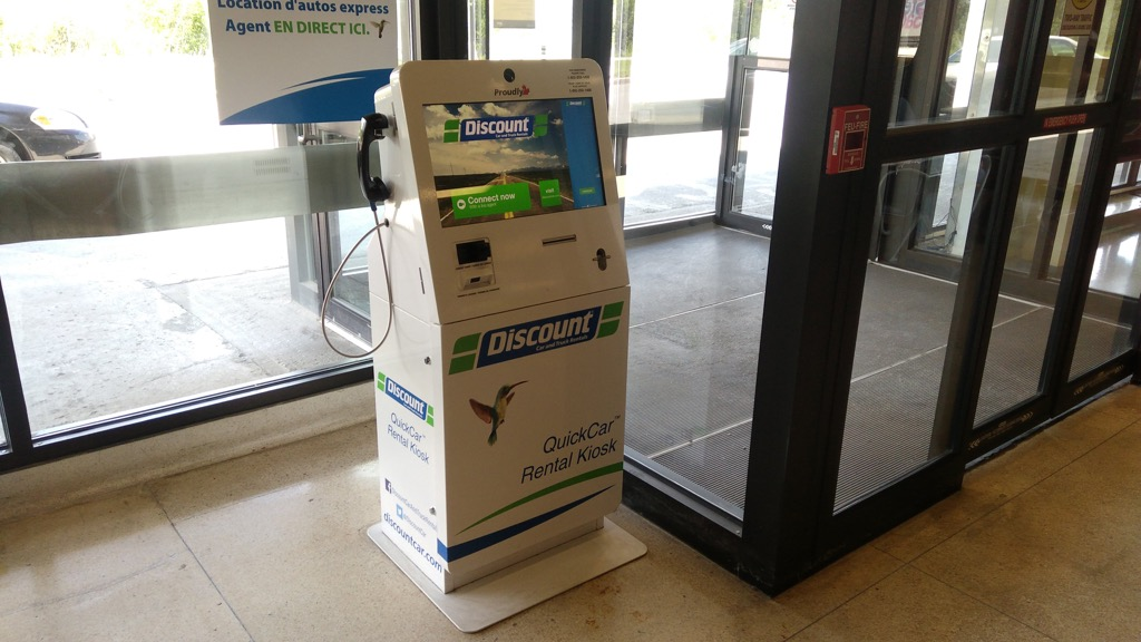 Discount Kiosk in Kingston VIA Station