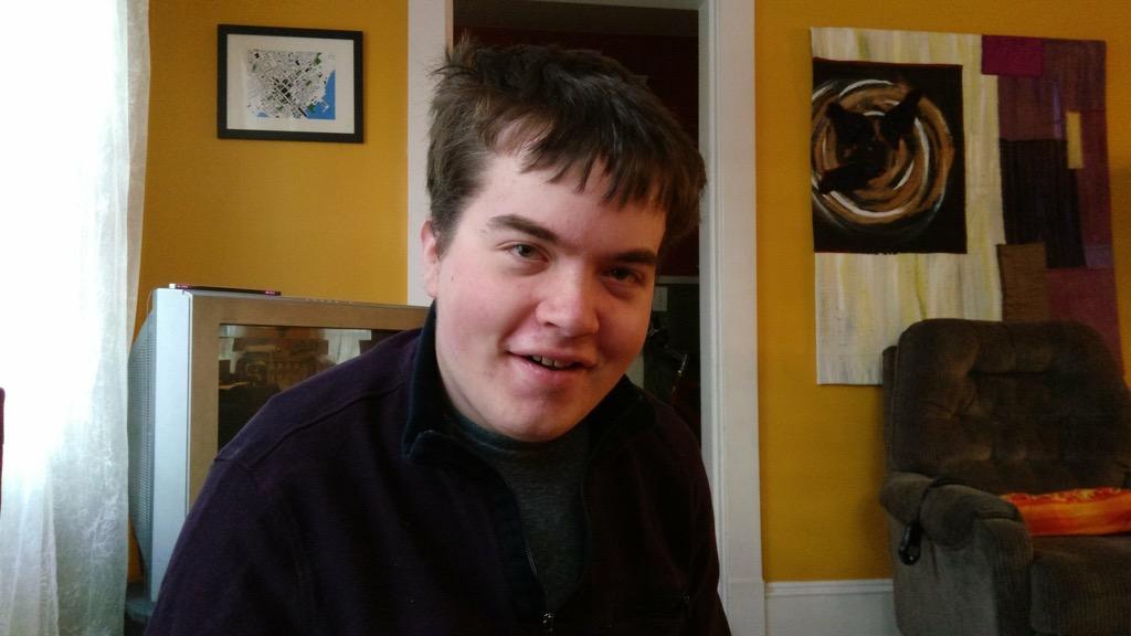 Oliver at 17
