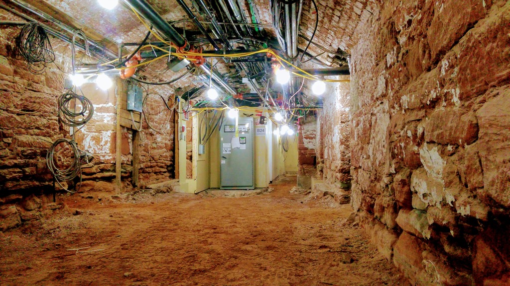 The basement of Province House
