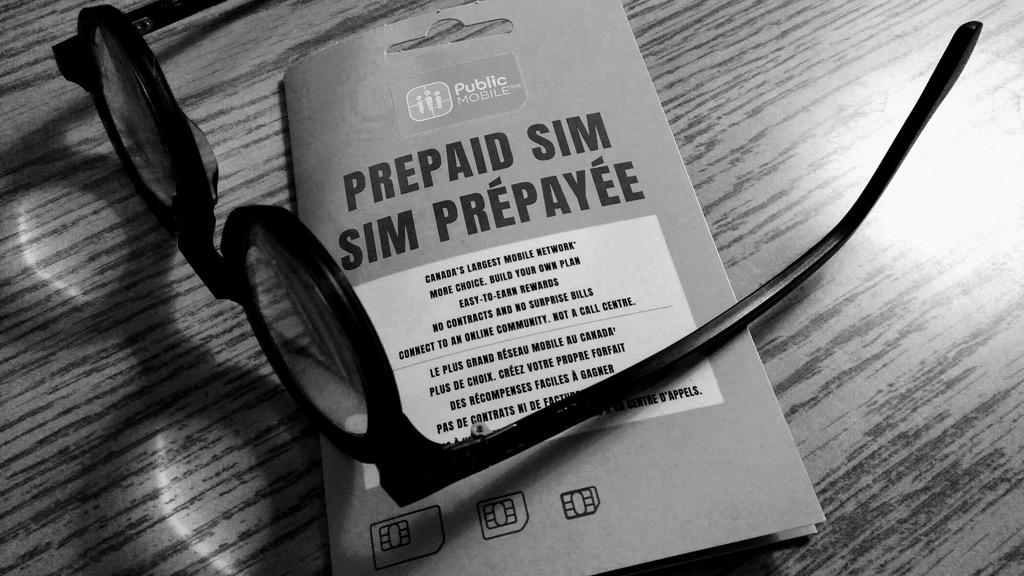 Public Mobile SIM Card Package