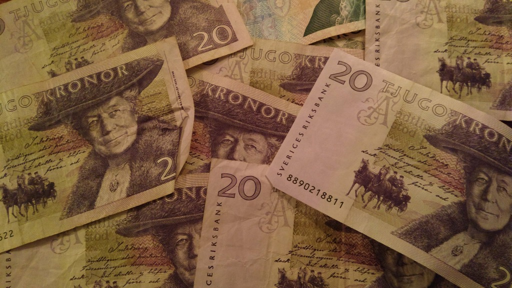 My Swedish cash