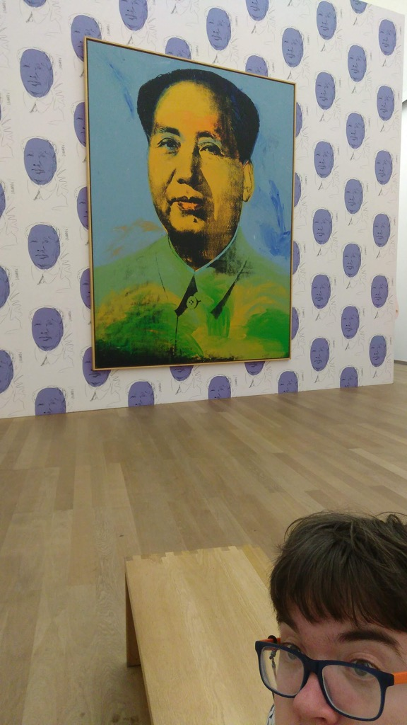 Oliver and Warhol's Mao