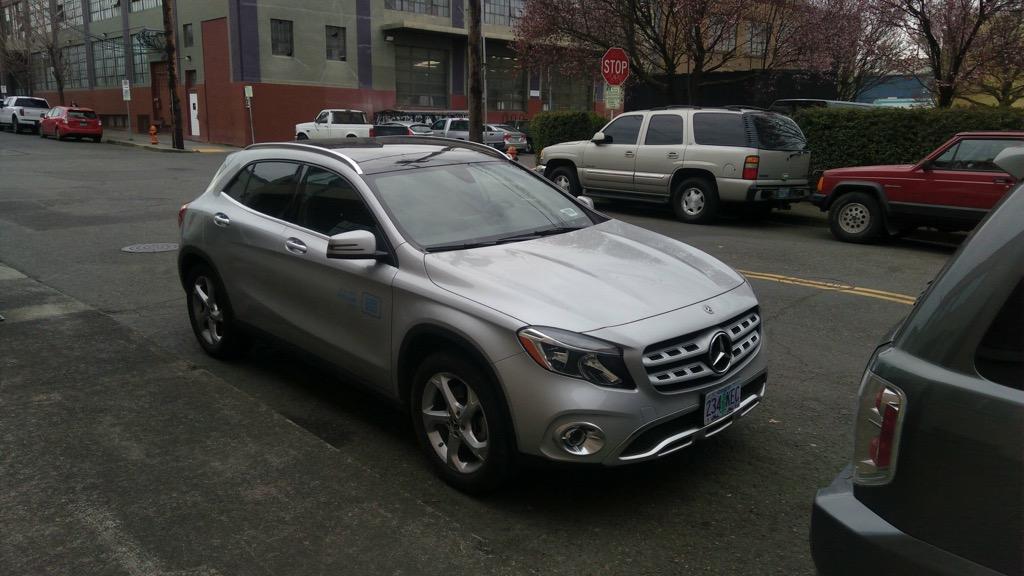 car2go Mercedes in Portland