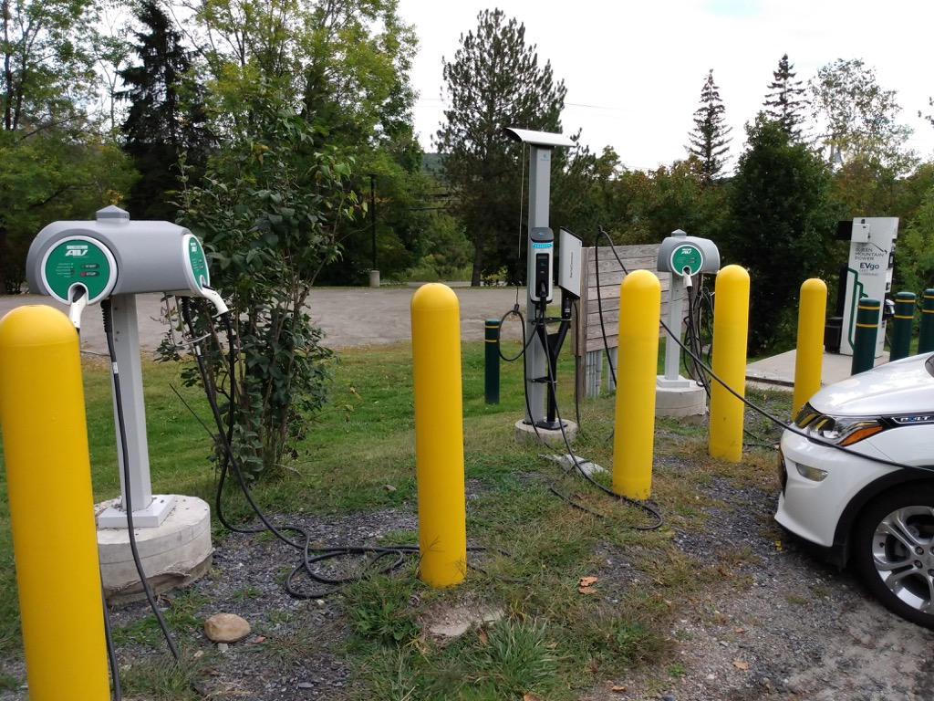 EV charging at Ben & Jerry's Factory