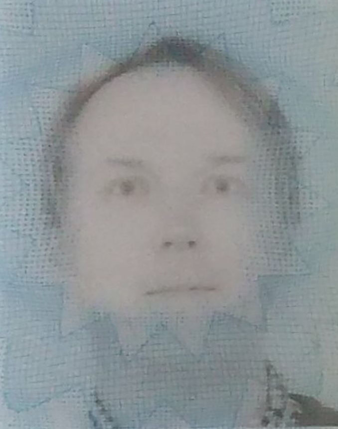 My new driver's license photo