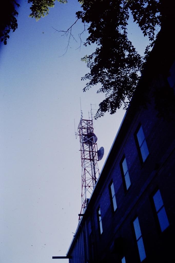 Island Tel microwave tower, Charlottetown, 1994