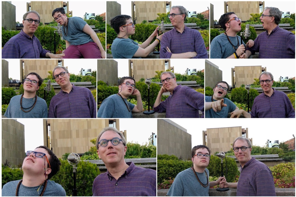 Podcast Photo Shoot Contact Sheet