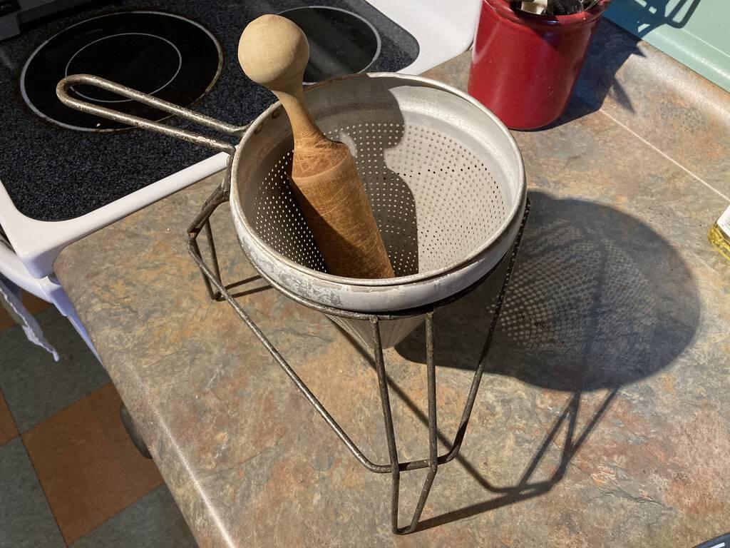Applesauce maker.