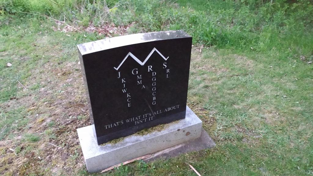 Aquila Maud Chapman Freemand gravestone