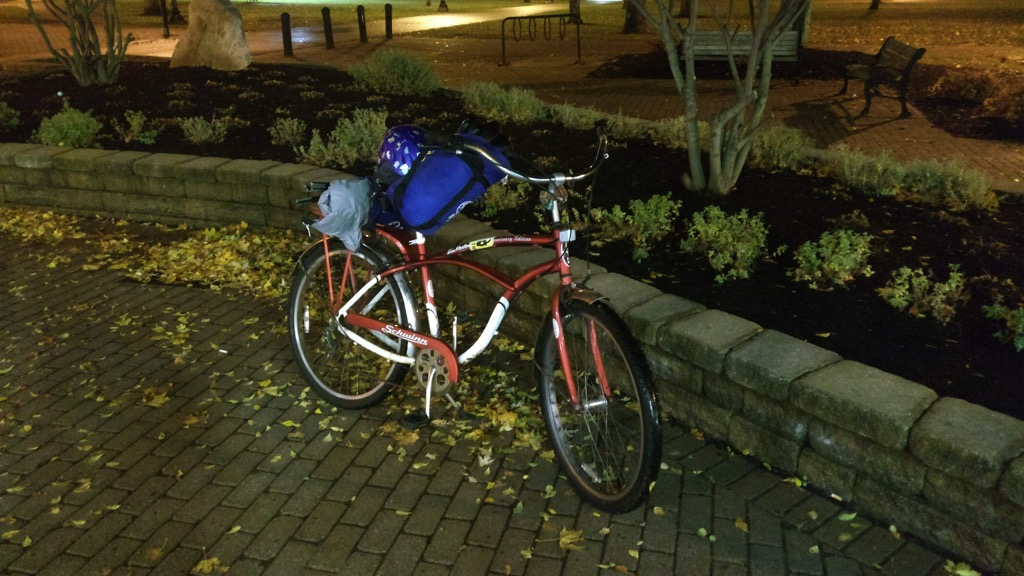 Photo of Bill McFadden's bicycle.