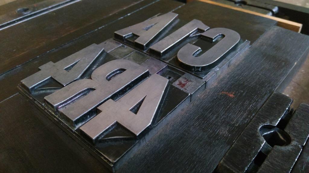 Type set for C1A 4R4 envelope