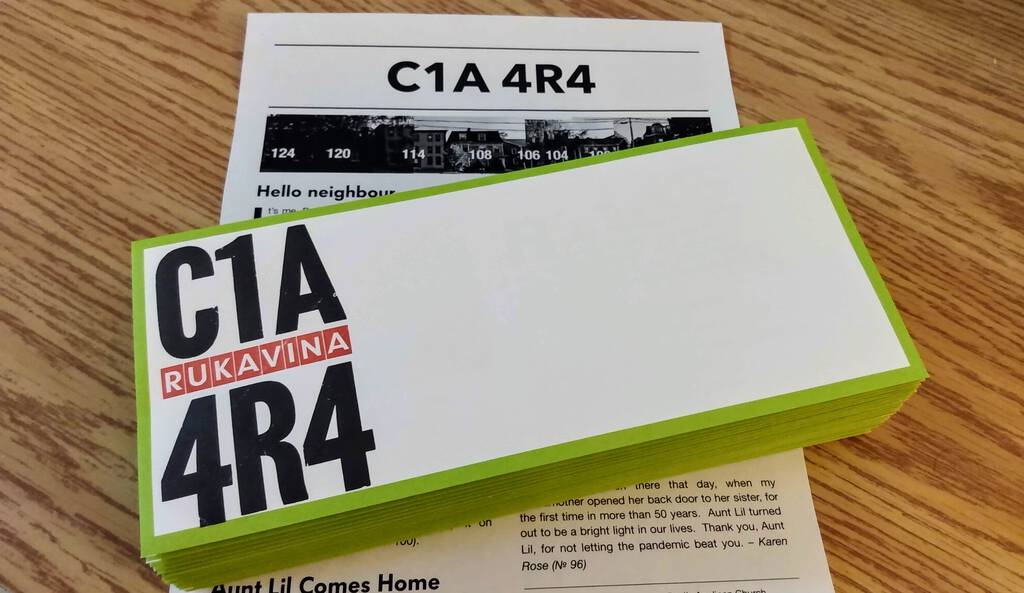 First edition of the C1A 4R4 newsletter.
