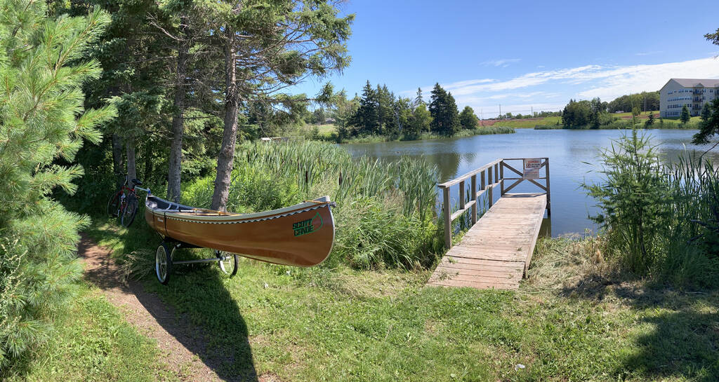 The Canoe put-in at Andrews Pond North