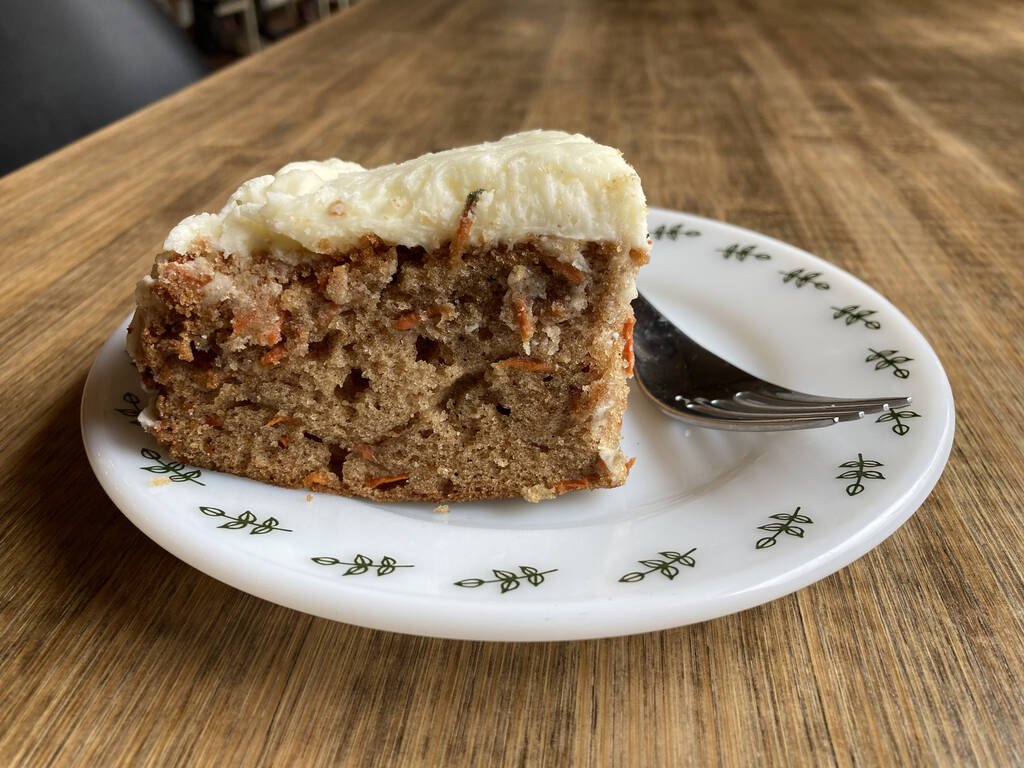 Carrot Cake from Willow Bakery