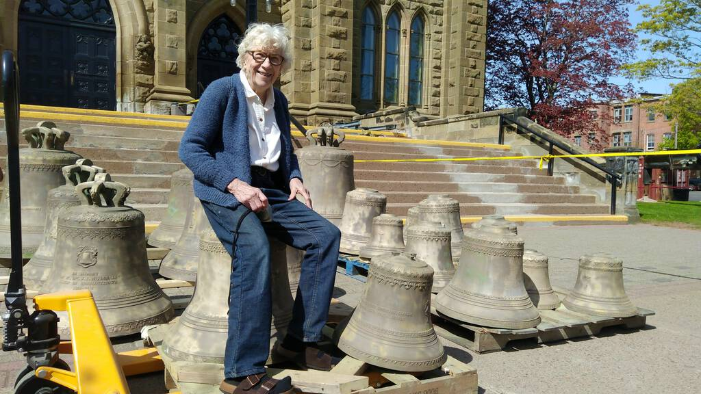 Catherine Hennessey and the bells of St. Dunstan's