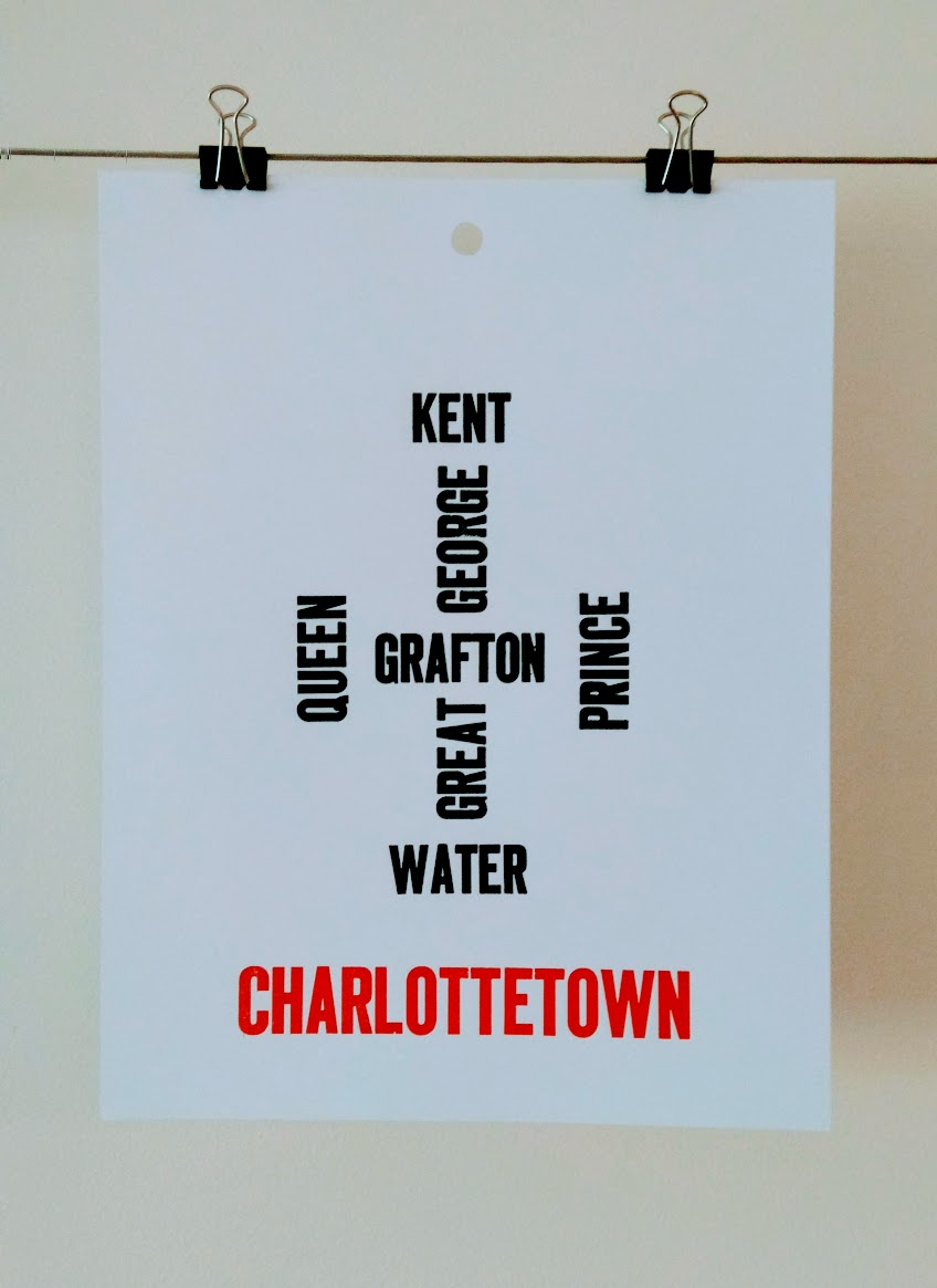 Letterpress Map of Charlottetown (final)