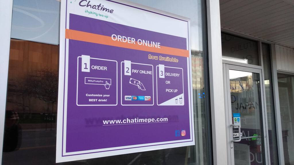 Chatime ordering online sign