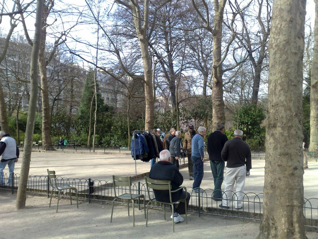 Coat Rack in Jardin du Luxembourg