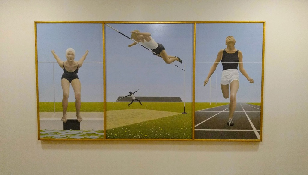 Alex Colville, Athletes, 1961