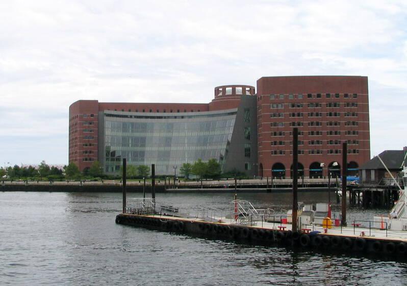 Joe Moakley Courthouse in Boston