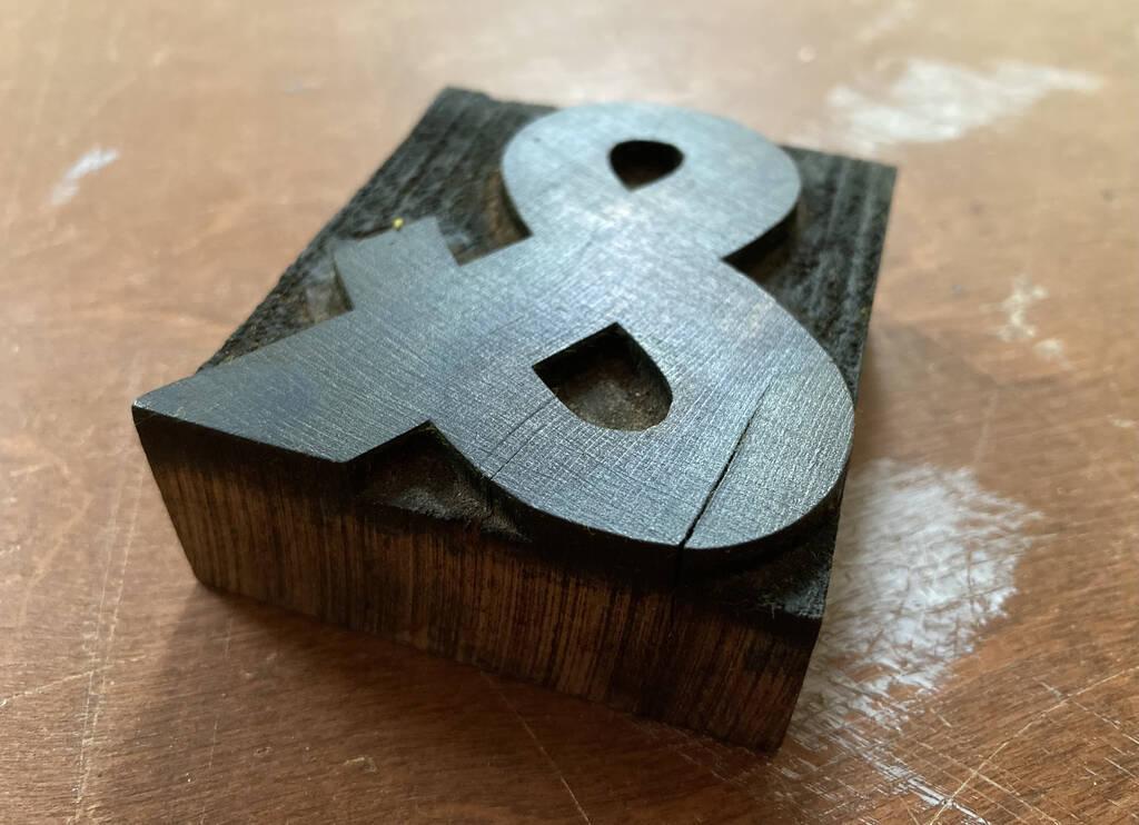 Cracked wooden type: &
