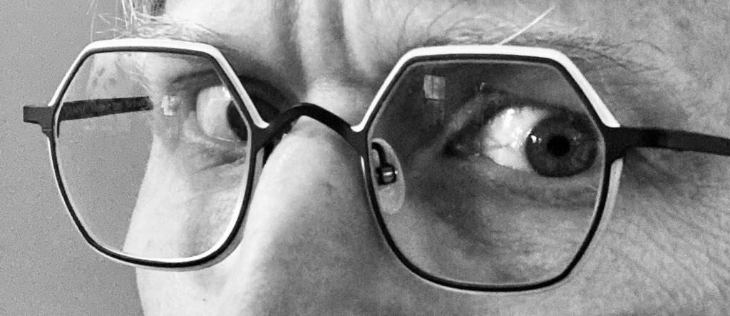 New eyeglasses.