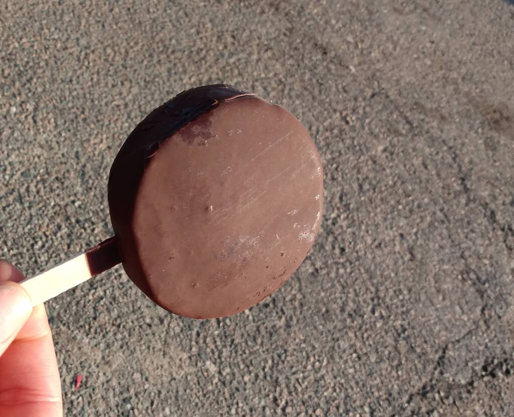 Dilly Bar, no curl