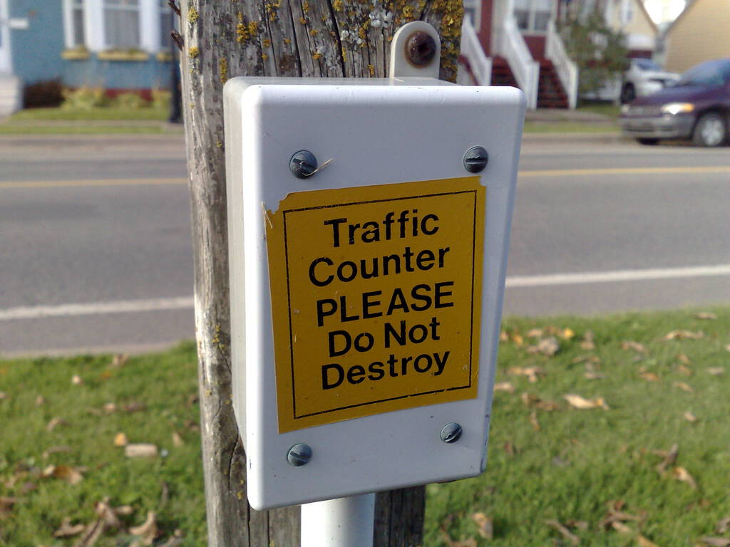 Traffic Counter: Do Not Destroy