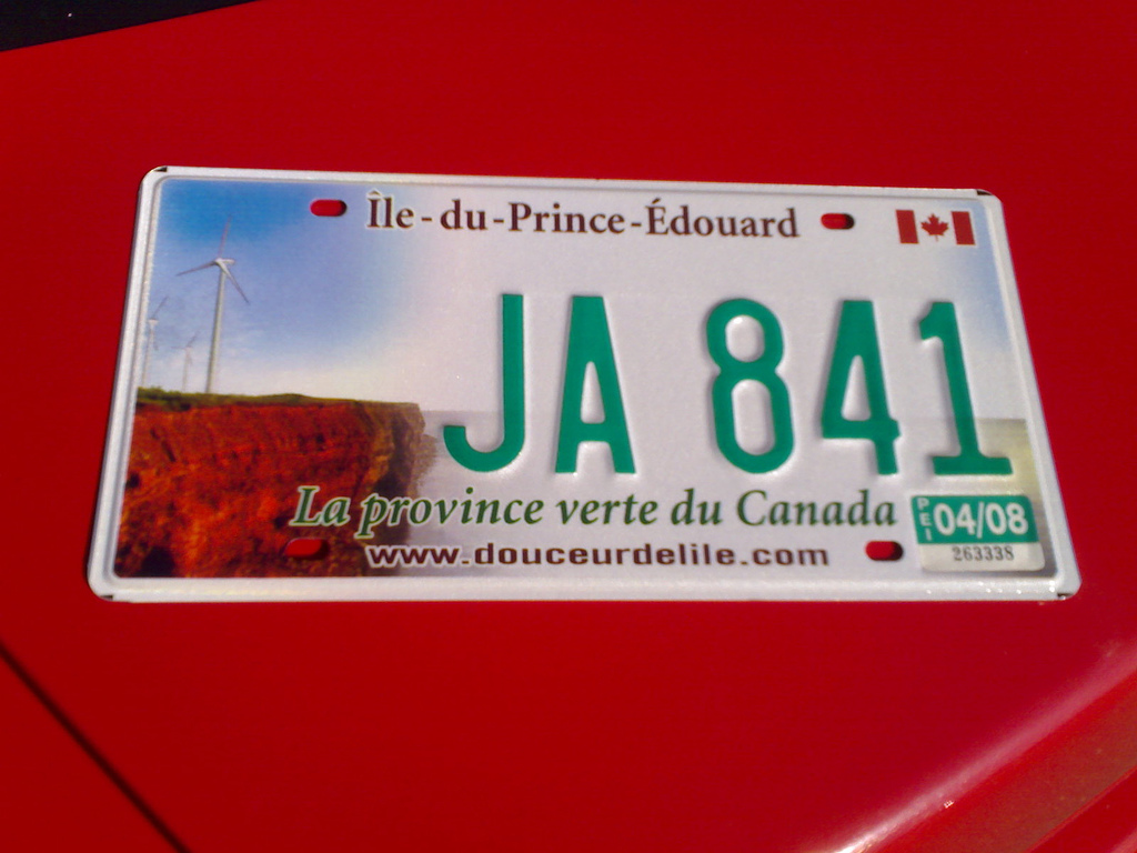 New License Plate