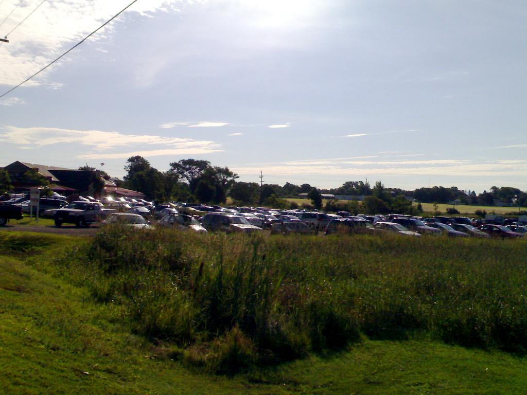Cars at the Charlottetown Farmer's Market