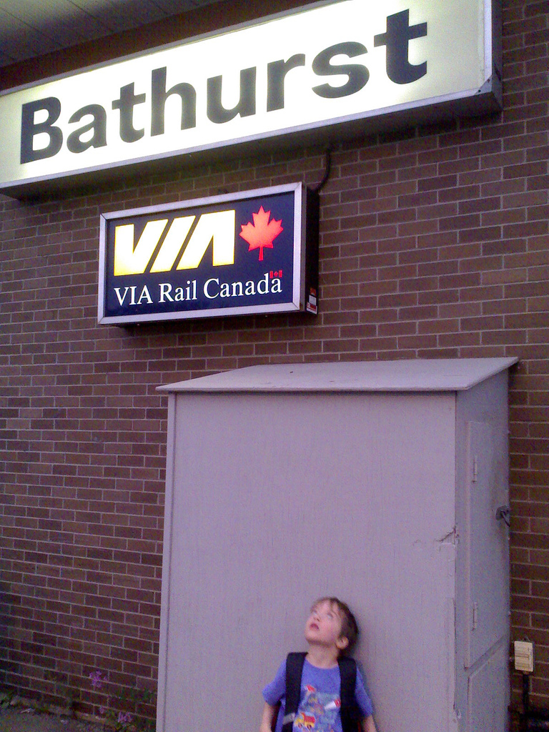 Arriving in Bathurst