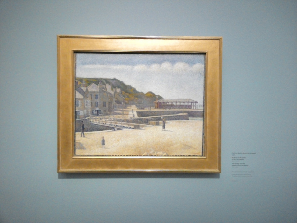 Georges Seurat, The Harbour and the Quays at Port-en-Bessin
