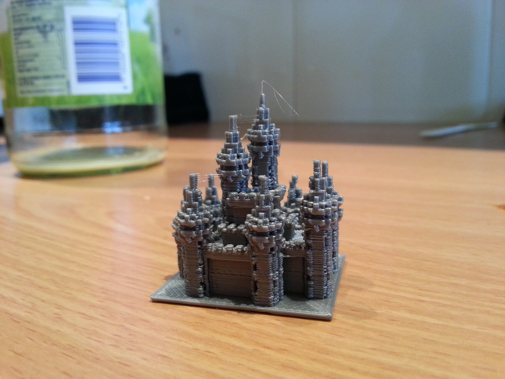 Minecraft design, 3d printed