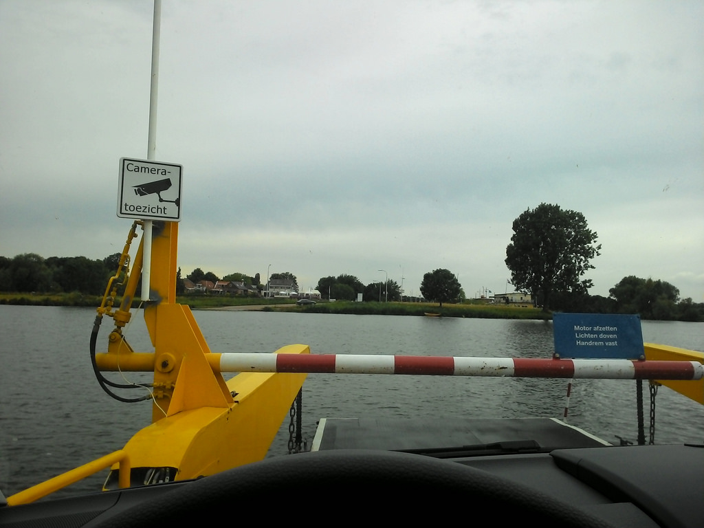 The Maasbommel Ferry