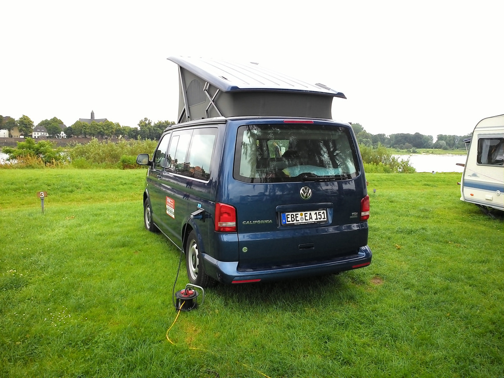 VW California Rental Van