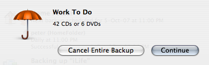 Why DVDs are way, way better than CDs for backup