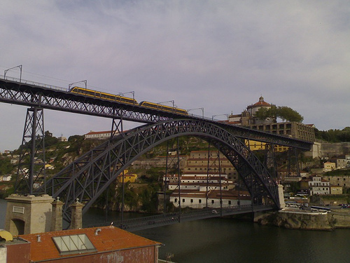 Tram Passing over Ponte Luiz I