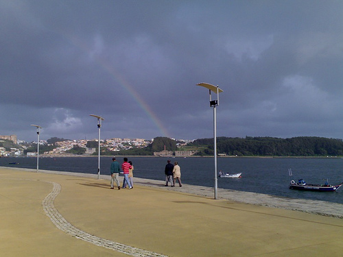 Rainbow over the Douro