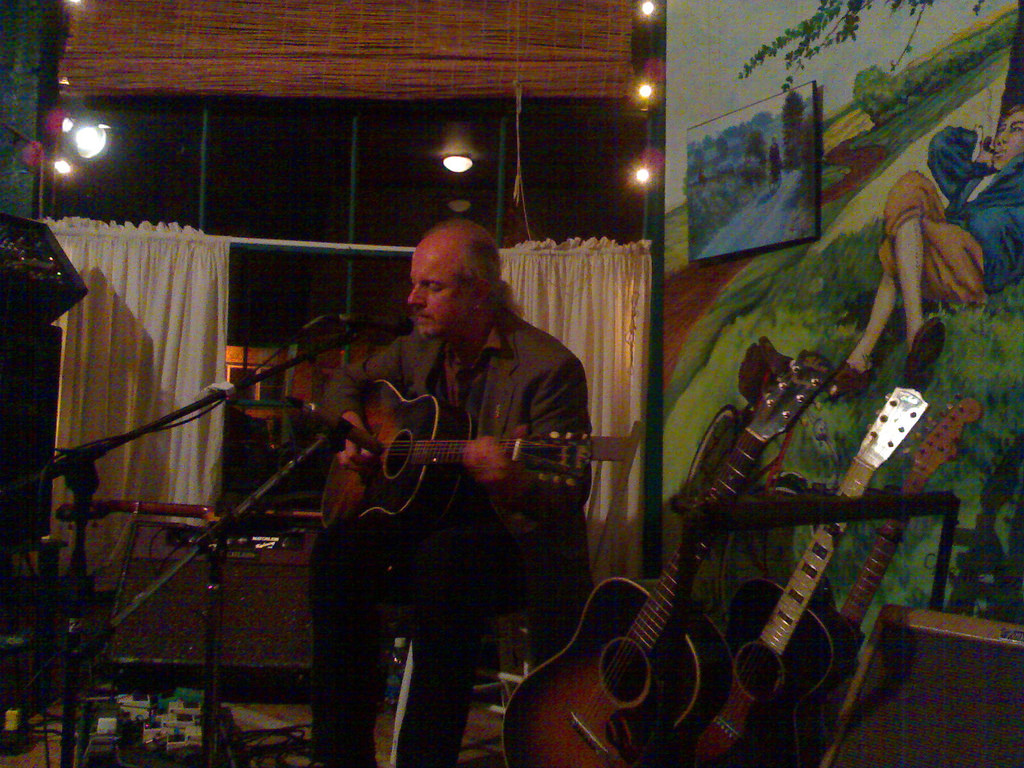Garnet Rogers at the Trailside