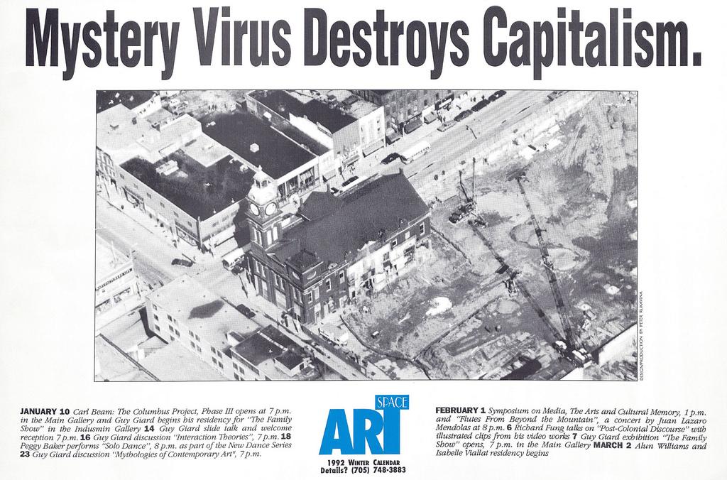 Mystery Virus Destroys Capitalism