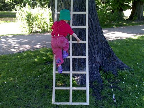 Oliver and Ladder