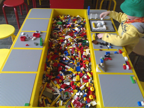 Another Lego Table