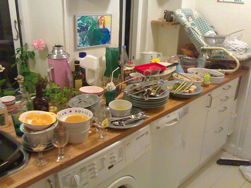 Post Dinner Party Dishes