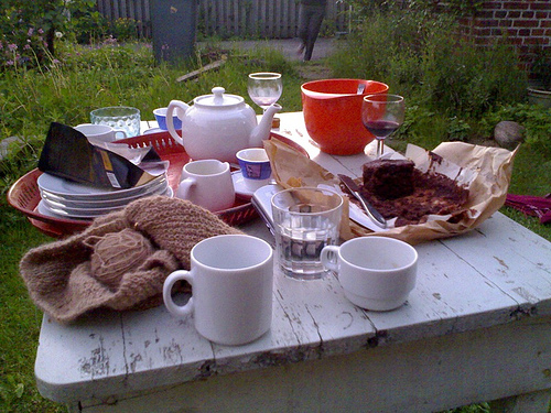 Outside Supper