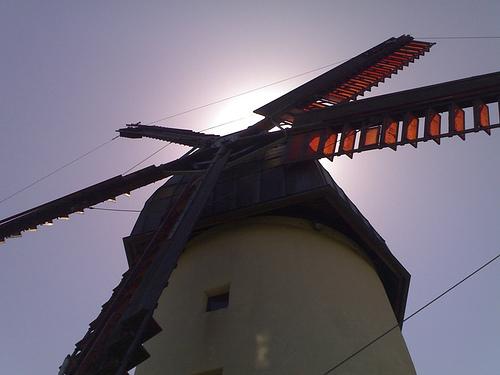 Windmill and Sun