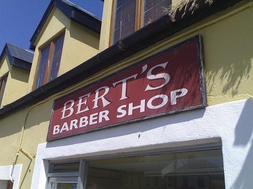 Bert's Barber Shop