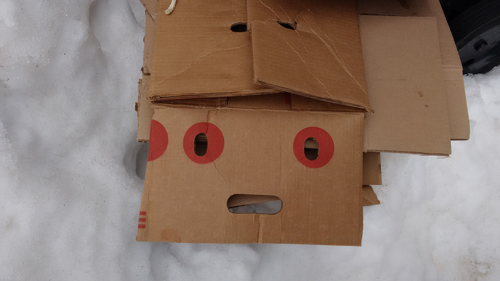 Boy Trapped in a Box