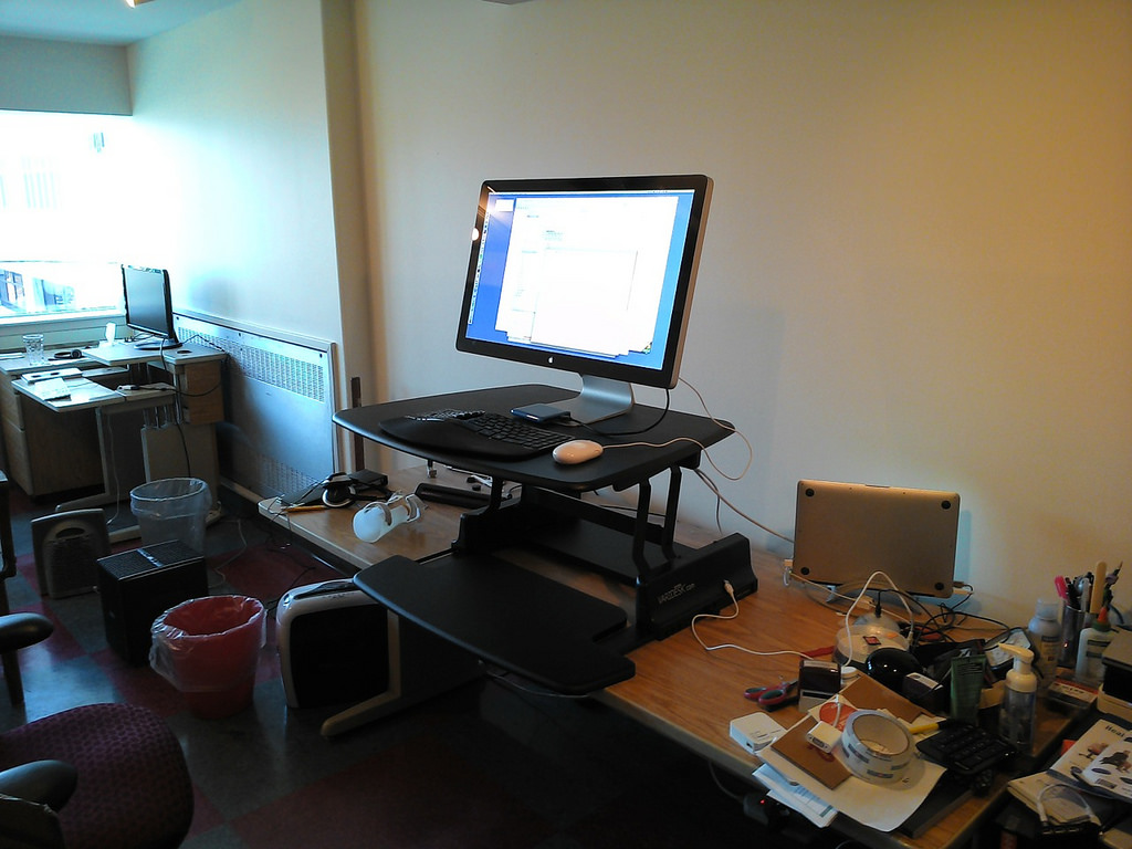 My New Jarvis Sit-Stand Desk